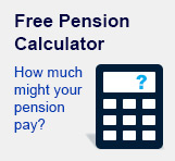 Use our free pension calculator